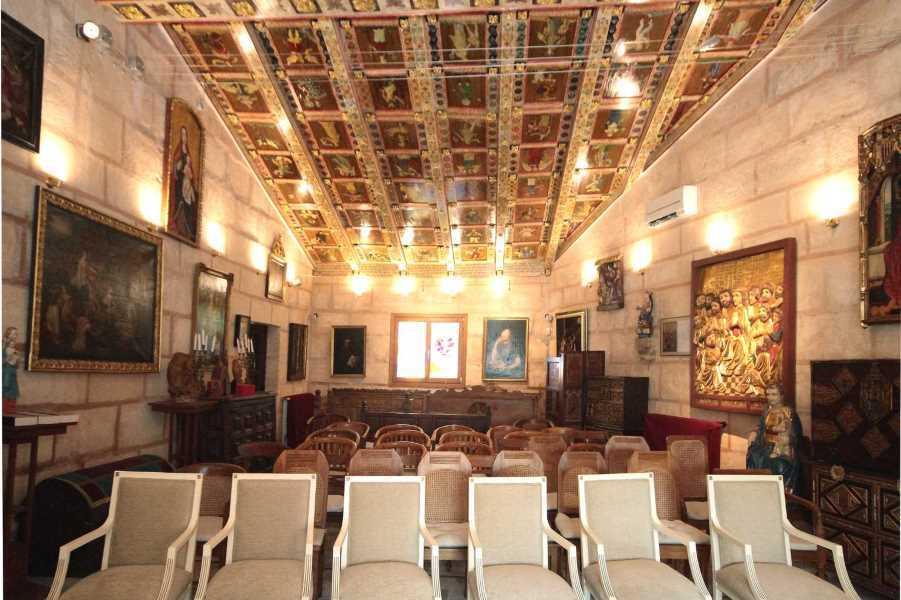 The chapel is an extraordinary manifestation of Romanesque art.